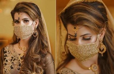 Bridal face mask, coronavirus