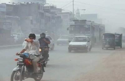 Air pollution, die