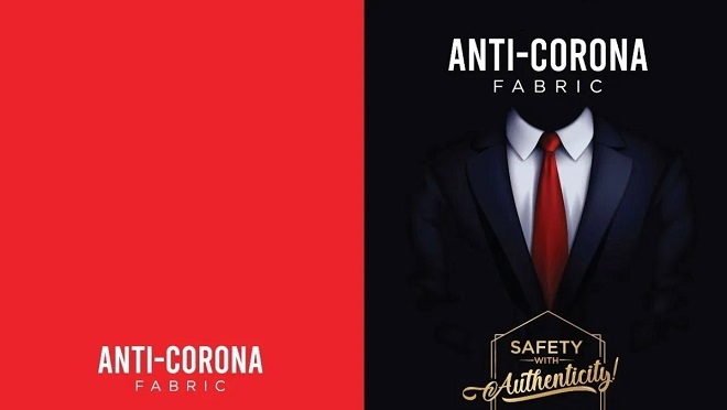Fabric, coronavirus, COVID-19, anti-corona fabric