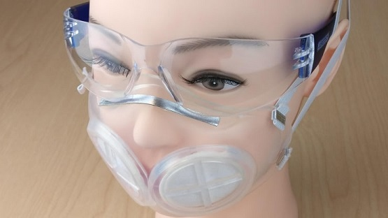 Engineers, reusable mask, face mask, silicon rubber face mask
