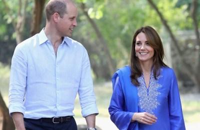 Prince William, Kate Middleton, Pakistan, students