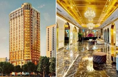 Vietnam, hotel, gold, gold hotel, Dolce Hanoi Golden Lake hotel