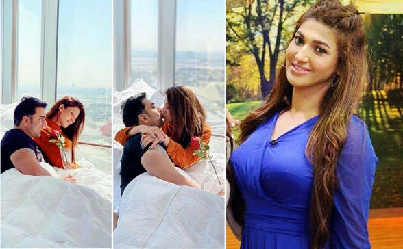 Actress Sana Fakhar shares intimate pictures with her husband on social media