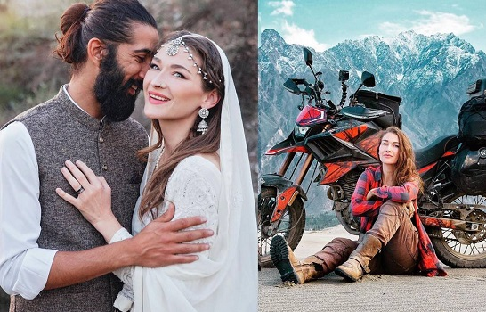 Canadian vlogger, Rosie Gabrielle, marriage, Pakistani traveler, Adeel Amer, Rosie Gabrielle Adeel Amer