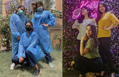 Pakistani female doctors, dentists, Pakistan vlogger, SOPs, coronavirus