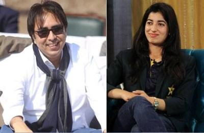 Dr Shahbaz Gill, Aliya Riaz, woman cricketer