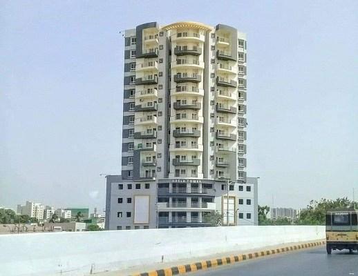 Nasla Tower, Karachi, builders, Mohsin Sheikhani, Fayyaz Ilyas, demolition