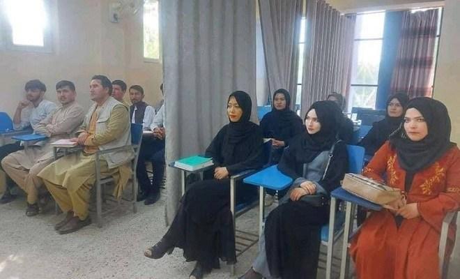 Afghan universities, Taliban, gender segregation, Afghan universities Taliban