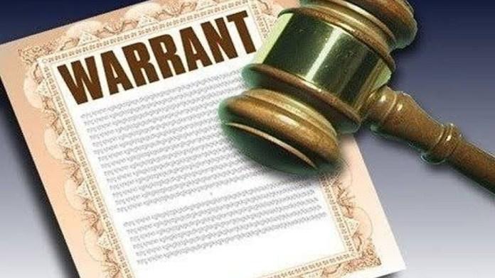arrest warrent