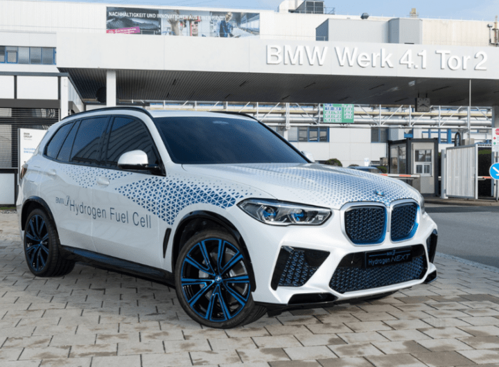 BMW to launch X5-based hydrogen car in 2022