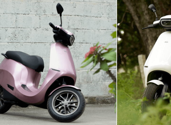 Ola electric scooters production facility unveiled