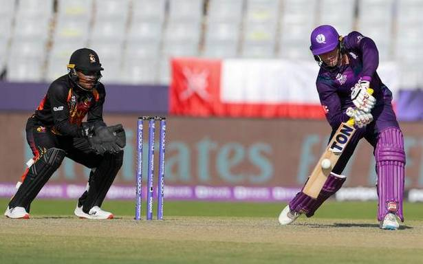 T20 World Cup first round   Berrington's 70 takes Scotland to 165-9 against PNG