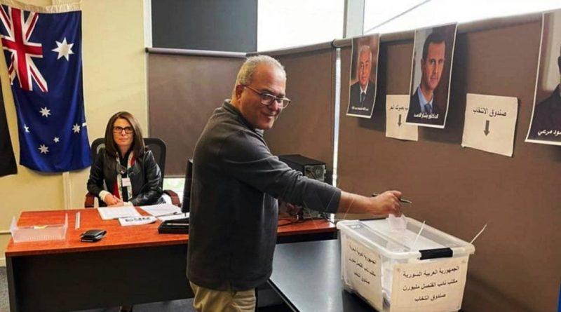 الانتخابات الرئاسية السورية 2021 تبدء في السفارات خارج البلاد