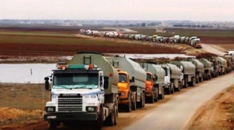 الاحتلال الأمريكي يواصل سرقته للنفط السوري من الحسكة