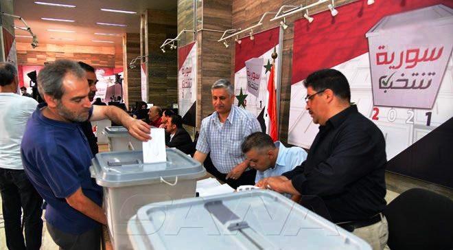 الانتخابات السورية 2021 بدأت ... اقبال منذ الساعات الأولى
