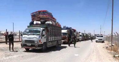 مخيم الهول .. إخراج أكثر من 200 شخص من سكان عين العرب وريفها