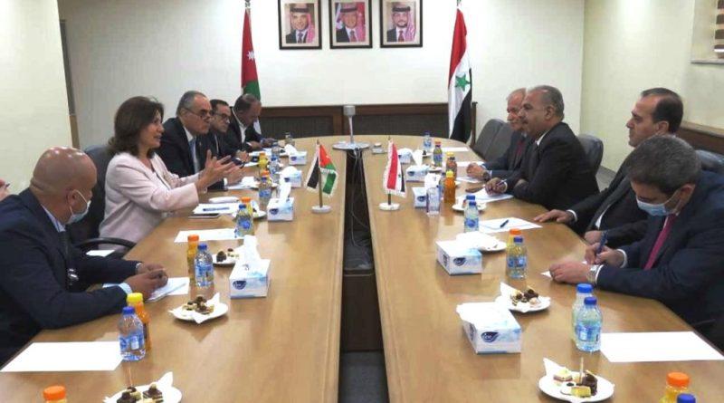 وفد حكومي سوري يتباحث في الأردن التعاون في قطاعي الكهرباء والنفط
