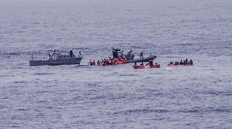 غرق 17 لاجئ من سوريا ومصر والسودان قبالة السواحل التونسية