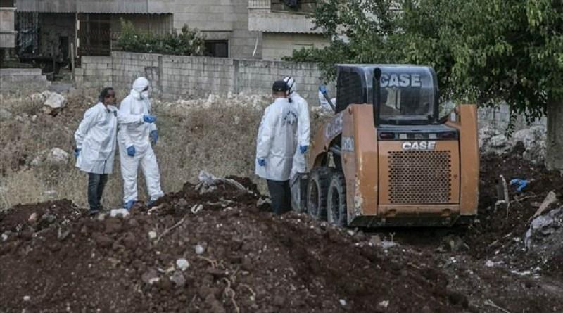 مقبرة جماعية في عفرين.. أكراد سوريا يردون على الاتهامات التركي