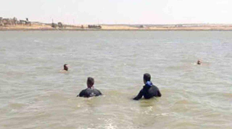 غرق شاب في بحيرة سد الحولة بريف حمص الغربي
