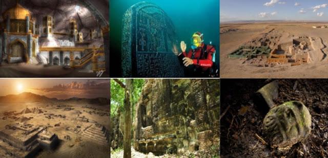 Những thành phố bí ẩn trong quá khứ đã được hé lộ
