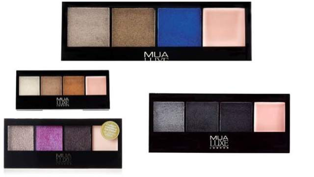 makeup academy metallic eyeshadow palette