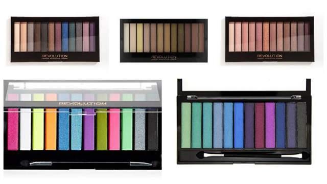 Makeup revolution redemption palette