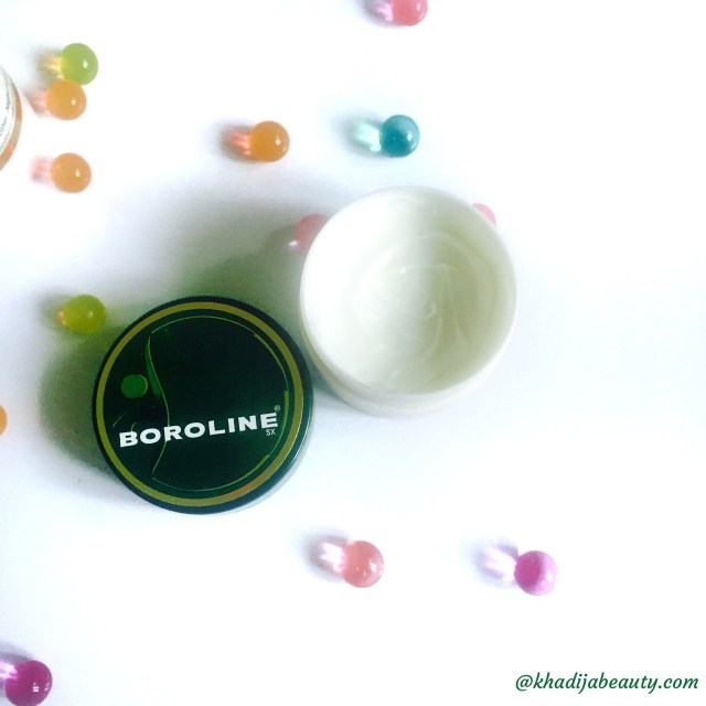 boroline review, night cream review, khadija beauty