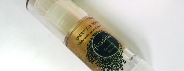 Fuschia under eye serum review, khadija beauty