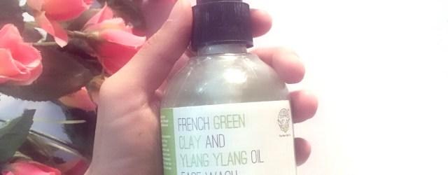 Greenberry organics face wash, khadija beauty,greenberry oranics french green clay and ylang yalng oil face wash