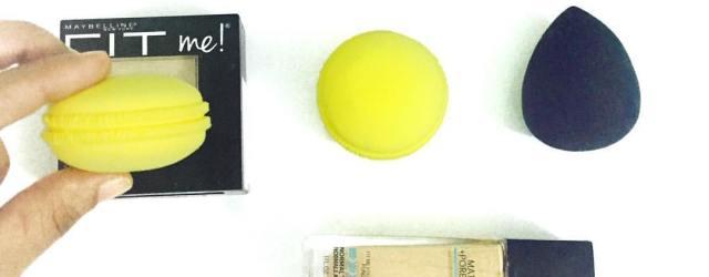 PAC macaron sponge review, makeup sponge review, macaron powder puff, khadija beauty