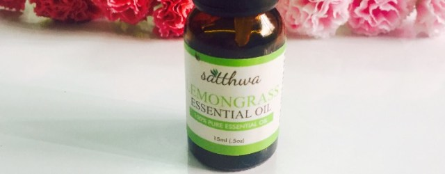 Satthwa lemongrass essential oil, khadija beauty
