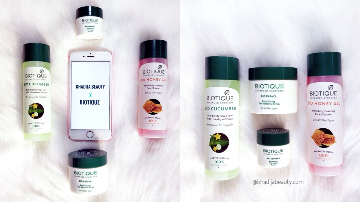 Refresh your skin with Biotique | cleanser, Toner, Scrub, Eye gel| Affordable and worthy
