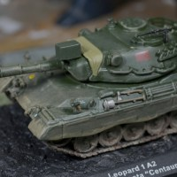 DeAgostini The Combat Tanks Collection: 1/72 Leopard 1 A2 (Weathered)