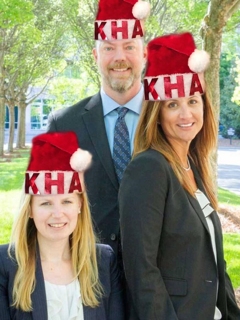 Merry Christmas and Happy Holidays from the Attorney Team at KHA Law Group