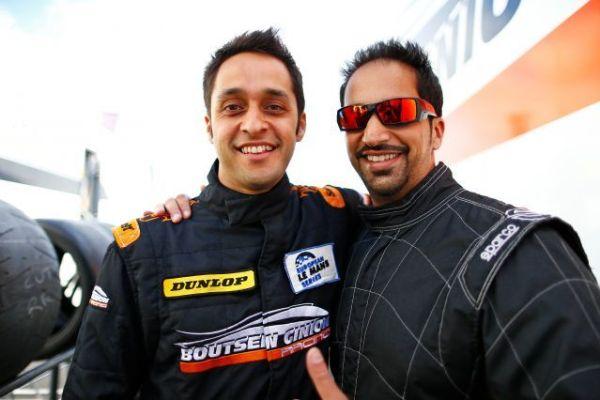 Alex Kapadia and Khaled Al Mudhaf Hungaroring ELMS debut