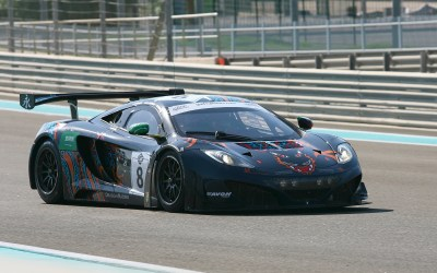Challenging test of endurance for Khaled in Gulf 12hr with McLaren 12C GT3