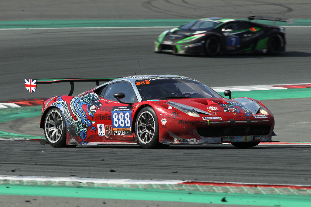 Dubai 24H 2016 Dragon Racing Ferrari458 GT3 58