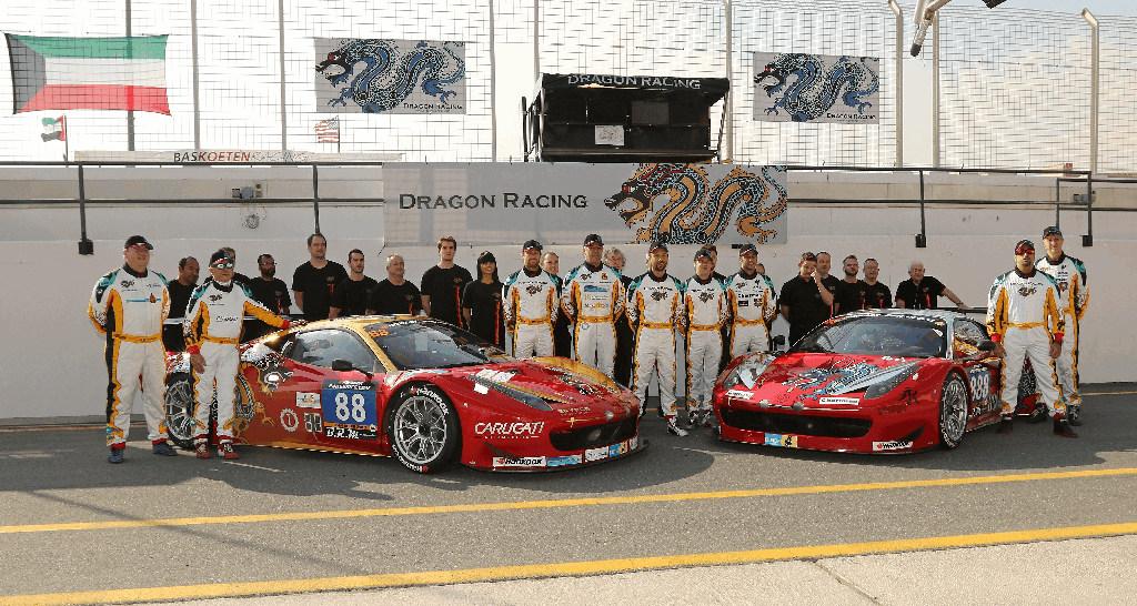Dubai 24H 2016 Dragon Racing Ferrari458 GT3 76