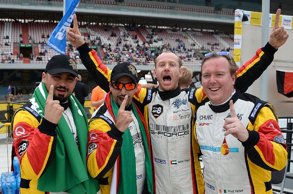 Dubai 24H GT3AM Class Winners 2014 -1