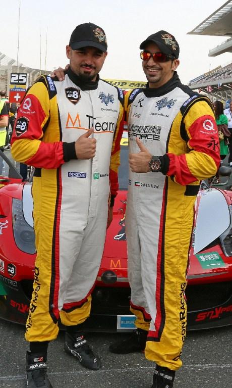Dubai 24H GT3AM Class Winners 2014 -14