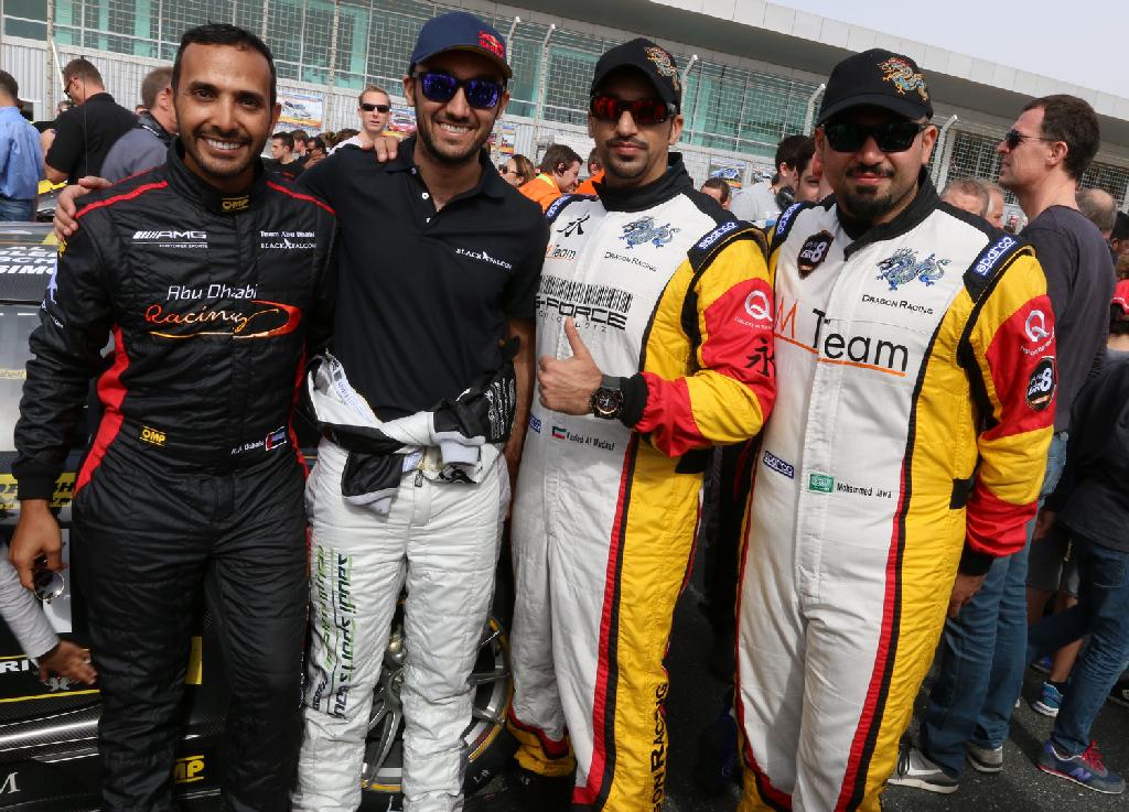 Dubai 24H GT3AM Class Winners 2014 -21