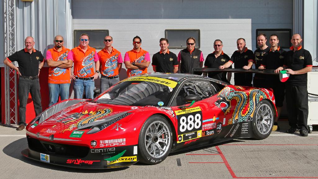 Dubai 24H GT3AM Class Winners 2014 -43