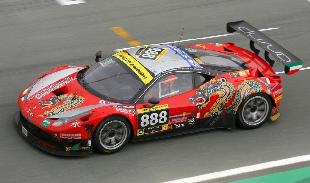 Dubai 24H GT3AM Class Winners 2014 -46