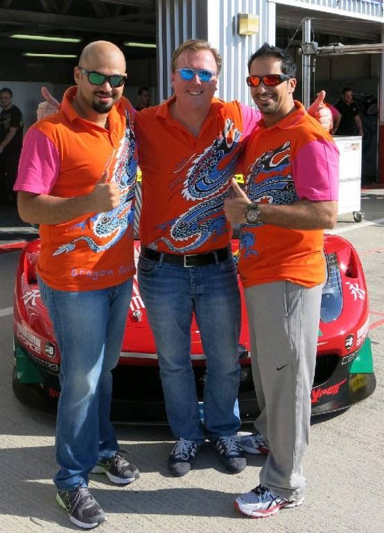 Dubai 24H GT3AM Class Winners 2014 -6