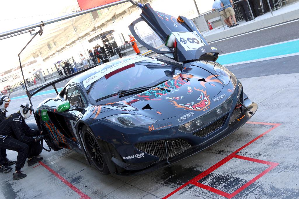 Gulf 12H McLaren GT3 2013-46