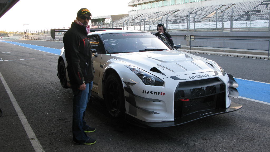 Nissan NISMO GT3 test Portimao 2012-31