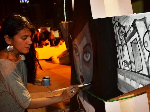 Street Night Art Artist- Liz Ramos-Prado