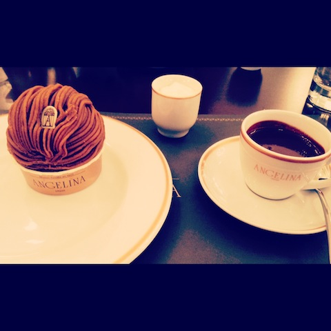 Mont Blanc and Hot Chocolate