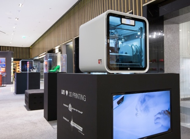 United Nude's 3D Printing at Level Shoe District (4)